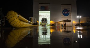 Antares Rocket Rollout